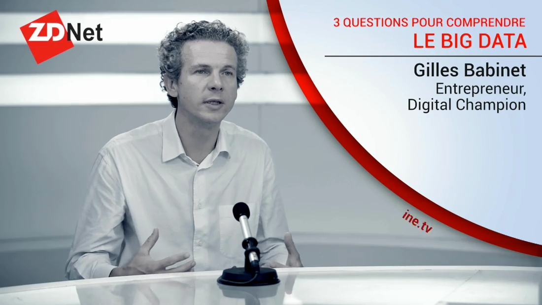 3 questions à un expert sur le Big DATA