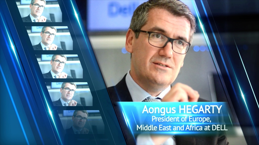 Exclusive meeting with Aongus Hegarty, President of Europe, Middle East and Africa at Dell